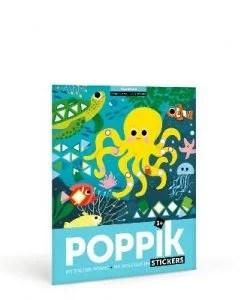Stickers poster Aquarium (3-7 ans)
