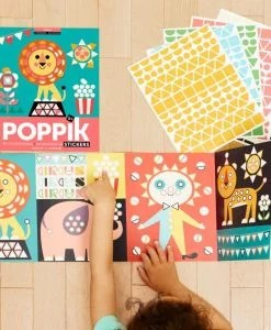 Stickers poster Circus (3-7 ans)