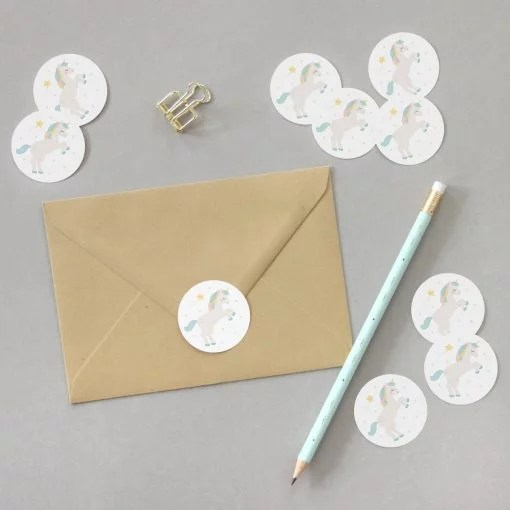 Stickers Licorne – Lot de 10