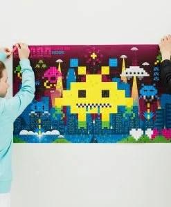 Sticker Poster – Jeux vidéos (7 ans et +)