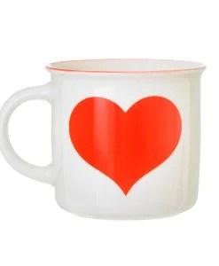 Mug coeur céramique