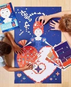 Sticker Poster – La reine (6-12 ans)