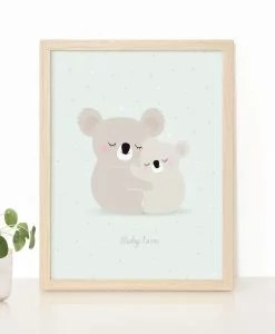 Affiche Koalas Baby Love Zü