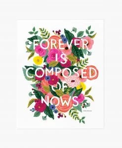 Affiche Fleurs Forever Rifle Paper Co