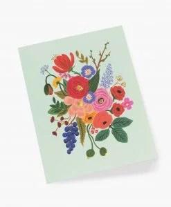 Carte florale Garden party Rifle Paper mint