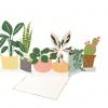 carte à déplier plantes intérieur meri meri