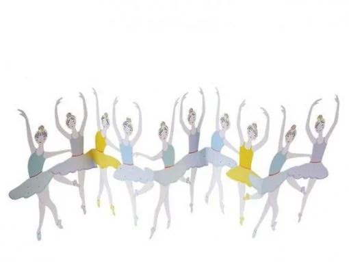 Carte anniversaire Danseuses Meri Meri