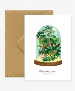 Carte World to protect Terrarium All the Ways to Say