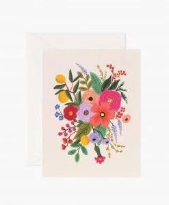 Carte florale Garden party Rifle Paper blush