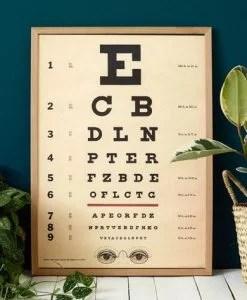 Affiche Ophtamologique Cavallini