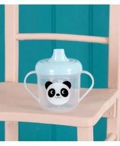 Verre bébé à bec et anses panda Miko Rex