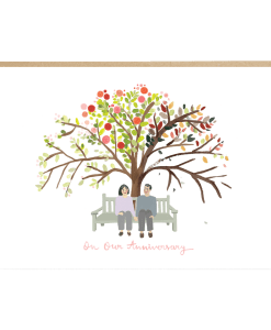 Carte anniversaire de mariage Jade Fisher