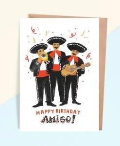 Carte anniversaire Mexicanos Jade Fisher