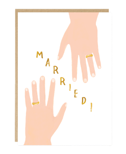 Carte mariage Alliances Jade Fisher