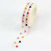 masking tape coeurs multicolores