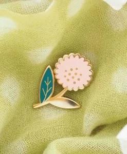 Pin's Dahlia rose Mini Labo