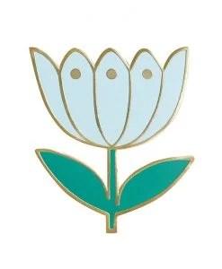 Pin's tulipe Mini Labo azur