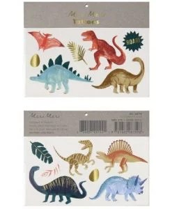 Tatouages dinosaures Meri Meri