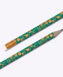 Crayons à papier Les Editions du Paon Pistil émeraude