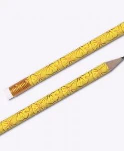Crayons à papier Les Editions du Paon Wax jaune