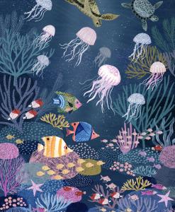 Poster Fonds marins
