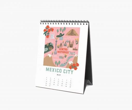 Calendrier Rifle Paper 2021 City Maps
