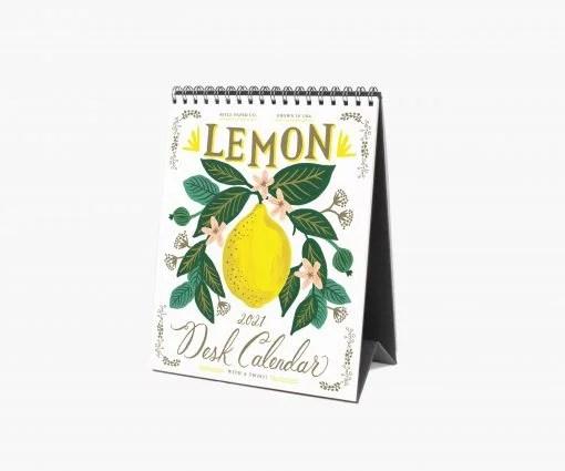 Calendrier Rifle Paper 2021 Lemon