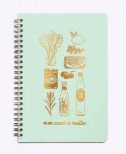 Carnet de recettes Mon épicerie Les Editions du Paon