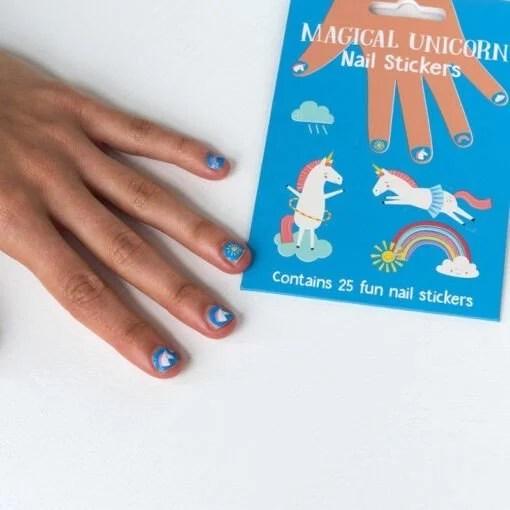 Autocollants pour ongles Licorne