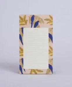 Bloc-notes Perroquets Season Paper