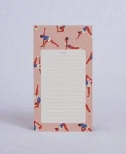 Bloc-notes Yoga Season Paper