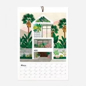 calendrier mural 2021 botanical kingdom all the ways to say