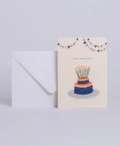 Carte d'anniversaire Cake Season Paper