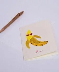 Carte La banane Season Paper