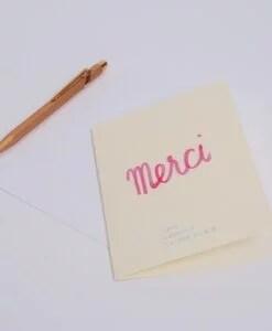Carte Merci QCM Season Paper