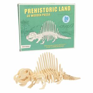 Puzzle 3d en Bois Dinosaure