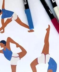 Carnet Yoga Season Paper