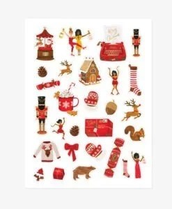 Stickers de Noël All The Ways To Say – 3 planches