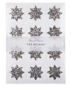 Stickers étoiles scintillantes Meri Meri – Set de 120