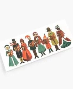 Carte Chants de Noël Rifle Paper Co