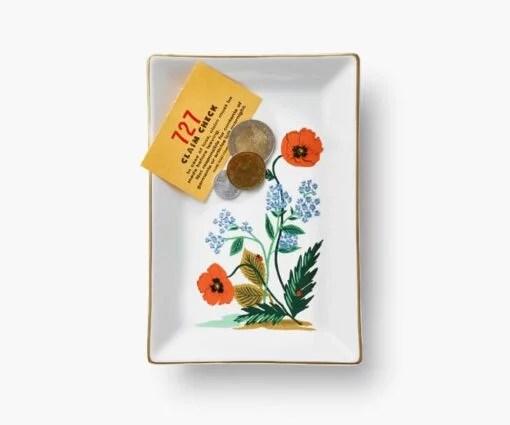 Vide poche Rifle Paper Co Poppy Botanical