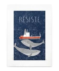 Affiche Résiste Petit Gramme