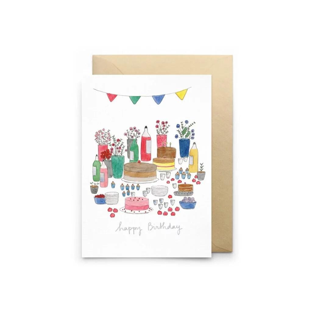 Carte anniversaire Happy Birthday Petit Gramme