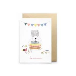 Crate bon anniversaire ours petit gramme