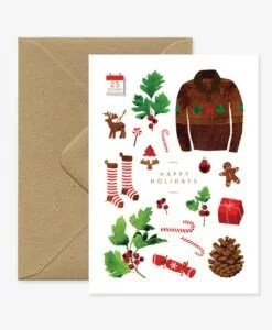 Carte de voeux Christmas Holidays All The Ways To Say