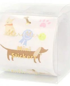 Rouleau 500 stickers Chiens