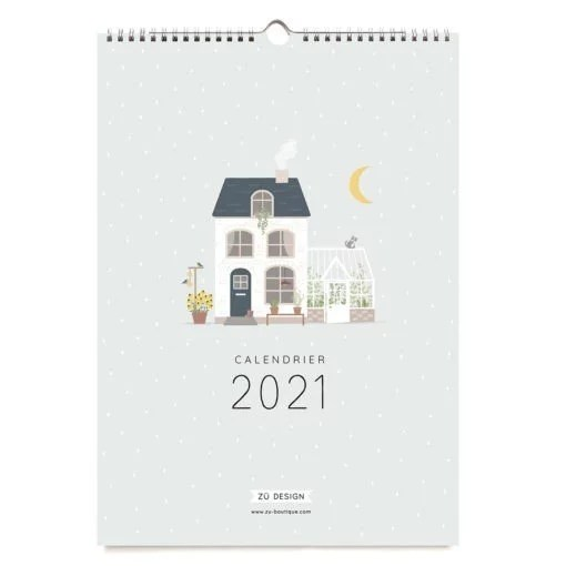 Calendrier mural 2021 Zü