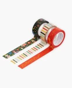 Masking tape Noël Rifle Paper Co – Lot de 3