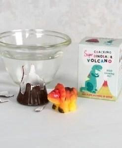 Volcan avec dinosaure Rex