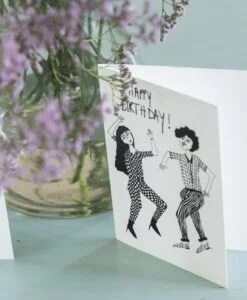 Carte anniversaire Dancing couple Helen B